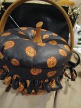 Vintage Longaberger 1997 Hostess Halloween Basket with Plastic Liner New... - $59.99