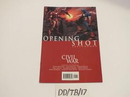 Marvel Comics Civil War Opening Shot Sketchbook 2006 McNiven Maleev Ramos Bachs - $9.99