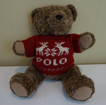 Ralph Lauren Plush Polo Teddy Bear with Sweater... - $16.82
