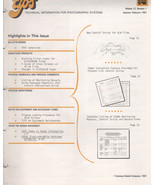 TIPS  technical information for photographic systems magazine by Kodak J... - $2.50