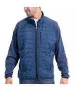 Orvis Mixed Media Long Sleeve Jacket True Blue Men's Sz XL - $29.69