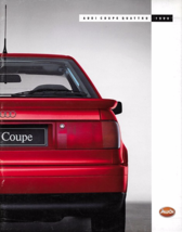 1989/1990 Audi COUPE QUATTRO sales brochure catalog 1st Edition US 90  - $10.00