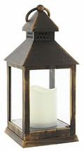 Joy of Giving Flameless LED Candle Table Lantern Bronze - $22.72