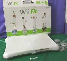 Wii Fit (Wii, 2008) Balance Board Fitness Health Video Game Platform  - $59.07 CAD