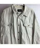 Men's RedHead Red Head Long Sleeve Button Up 100% Cotton Shirt Size 2XLT... - $22.77