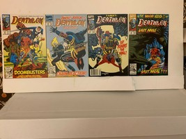 Deathlok (2ND Series) Marvel Comics 1991-1994 Vf 15 Book Lot With Free Shipping - £13.53 GBP