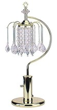 ORE International 715G 27-Inch Height Gold Table Lamp with Crystal-Inspi... - €50,78 EUR