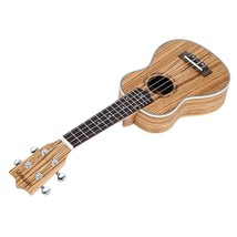 "High Quality 21"" 15 Fret 4 String Acoustic Zebr... - $37.39"