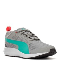PUMA SWYPE LOW SNEAKERS WOMEN SHOES LIME GREY 189191-02 SIZE 9.5 NEW - $74.24