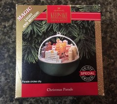 Halmark Keepsake Ornament Christmas Parade Light and Motion 1992 Vintage... - $19.75