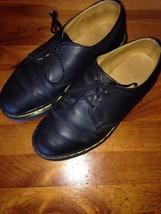 Doc Marten's Black leather Originals Size 5 DM's 3-Hole J132 NICE! Dr. Docs - $44.54