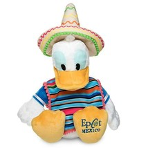 Disney Parks Epcot Mexico Caballero Donald Duck Plush New with Tag - $44.09