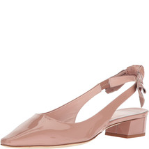 Kate Spade New York Womens Lucia Sling Back Beige Patent Sandals 6.5M - $128.99