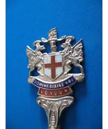 London England Sterling Silver Souvenir Collector Spoon Vintage Dragons ... - $24.99