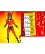 ADULT MRS INCREDIBLE COSTUME SZ 12-14 - $49.00