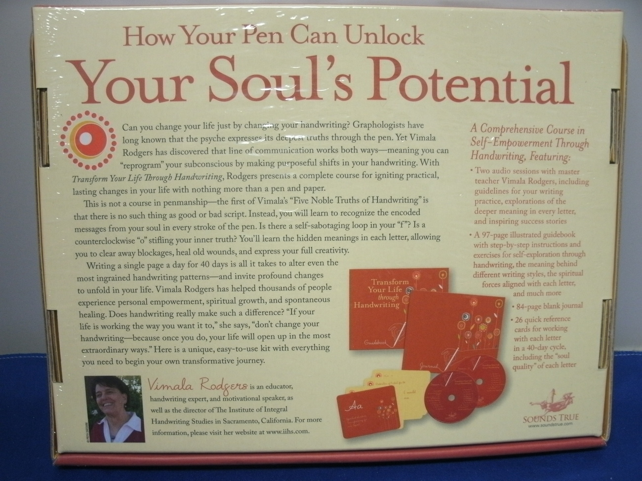 Transform Your Life Through Handwriting by Vimala Rodgers - NEW  image 3