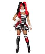 Roma Harlequin Harley Quinn Villain Halloween C... - $105.00 - $190.00
