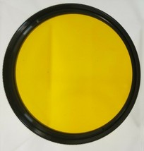 Vintage VIVITAR 52mm - Deep Yellow #15 G Filter - with Case - $16.82