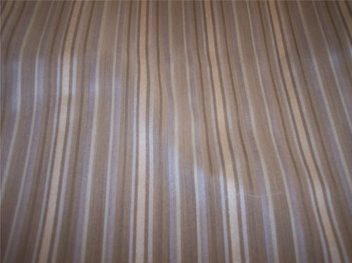Beige Striped Damask Fabric/Upholstery Fabric Remnant