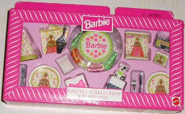 1998 BARBIE Doll Accessory Special HAPPY BIRTHDAY SET