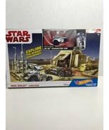 NIB. Hot Wheels Star Wars Set Mos Eisley Junction with R2-D2 Character Car - $15.83