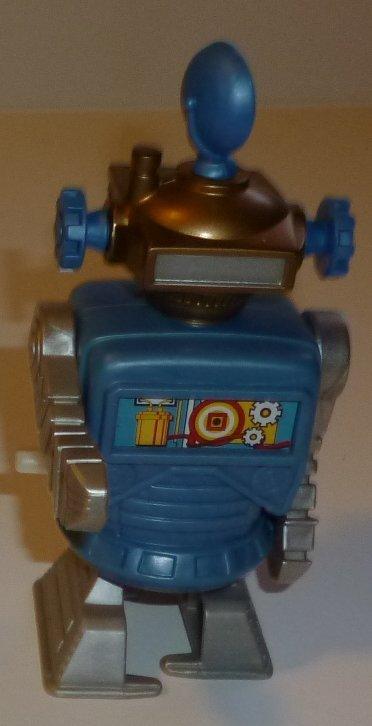 """Burger King wind up walking ROBOT Toy 4.75"""""""