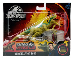 JURASSIC WORLD Dino Rivals VELOCIRAPTOR ECHO Action Figure Attack Pack NEW - $14.25