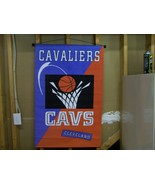 "CLEVELAND CAVALIERS NBA WALL HANGING BANNER 29""... - $9.00"