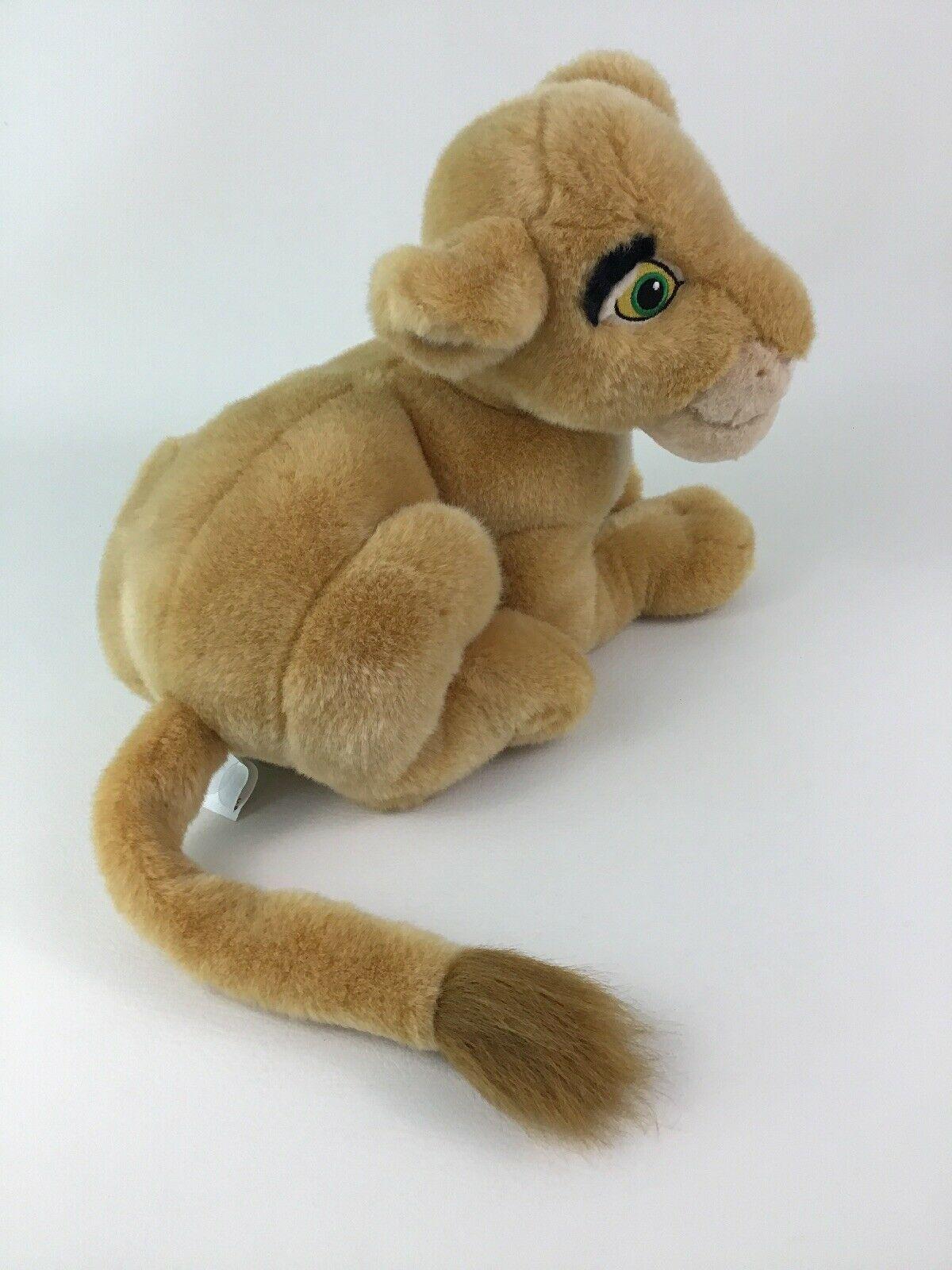 "Disney Store The Lion King Laying Young Nala Lioness 14"" Plush Stuffed Toy image 4"