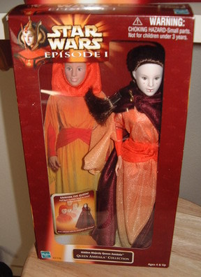 Star Wars Episode I Queen Amidala Doll Make Offer