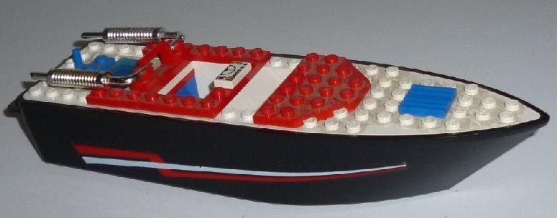 "LEGO Part Ship BOAT black & white 8.5"""
