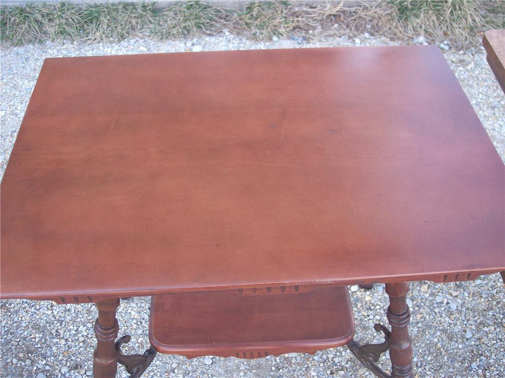 Cherry Parlor Table/Entry Table