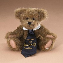 "Boyds Bears ""Grandpa"" 8"" Plush Bear- #903160- New- 2007 -Retired - $19.99"