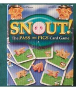 Snout! the Pass the Pigs Card Game  Contents Sealed - $7.75