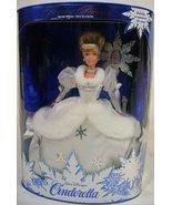 Holiday Princess CINDERELLA Doll, 1996 Mattel MIB  - $49.99