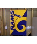 ST. LOUIS RAMS NFL WALL HANGING BANNER 29