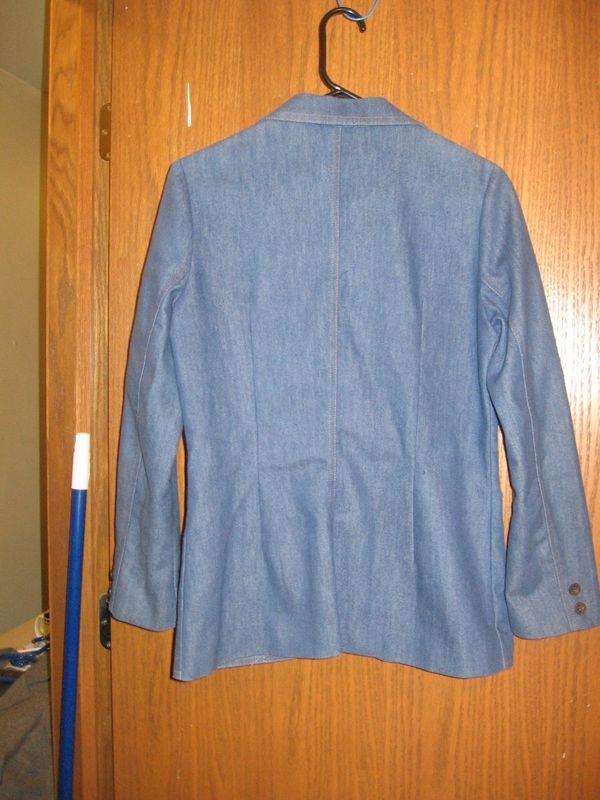 Blue Denim Blazer Ladies' Sz. 10 Koret City Blues
