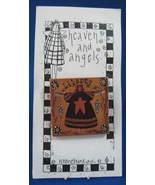 Folk Art Liberty Angel Pin Heaven And Angels New On Card 1970s - $16.00