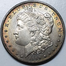 1889S $1 Morgan Silver Dollar Coin Lot # E 95