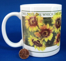 Daisies Mug Scripture This Is The Day Psalm 118 - $8.00