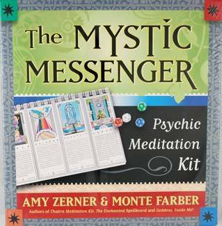 The Mystic Messenger- Psychic Meditation Kit by Amy Zerner & Monte Farber