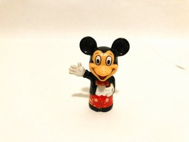 Vintage Walt Disney Productions Mickey Mouse Plastic Figurine Toy Pencil... - $7.91