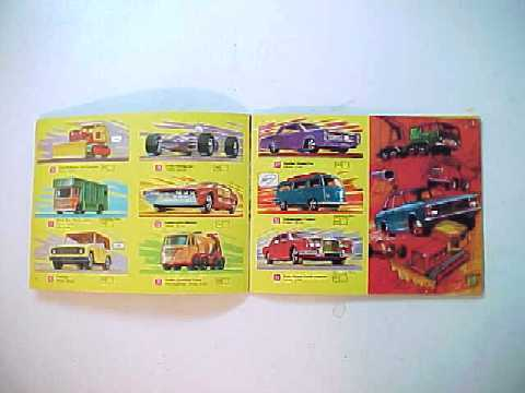Vintage 1970 Lesney Matchbox Diecast Cars Collector's Catalog - USA