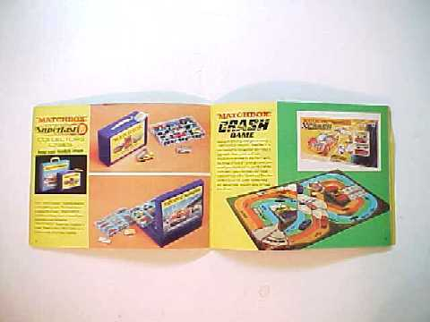 Lesney Matchbox Diecast Cars 1970 Collector's Catalog -USA