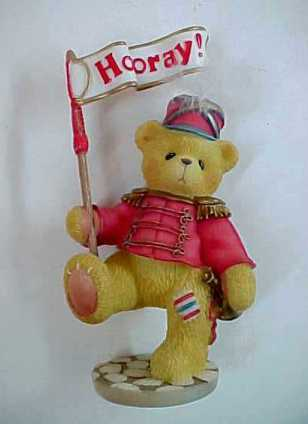 Primary image for Enesco Cherished Teddies Lanny 1999 Members Only Bear No. CT105 Figurine