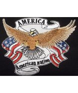 God Bless America Custom and Unique Patriotic Patches[Eagle With America... - $9.89