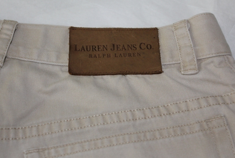 Ralph Lauren Jeans Khaki Capri's Size 4 Mint!