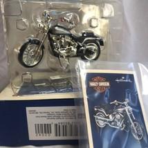 Hallmark Harley-Davidson Christmas Ornament 2000 Softail Deuce Motorcycl... - $24.74