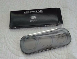 MAKE UP FOR EVER MUFE Artist Refillable Makeup Z Palette Trio Empty NEW ... - $4.99