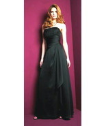 Evening Gown Jasmine Belsoie Style L9020 Black ... - $24.99